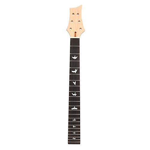 Annjom Accesorios de Guitarra, mástil de Guitarra eléctrica Craft Blackwood, Pieza Antigua de Repuesto Ligera para Guitarra eléctrica Reparación de Guitarra Mantenimiento de Guitarra(GS55)