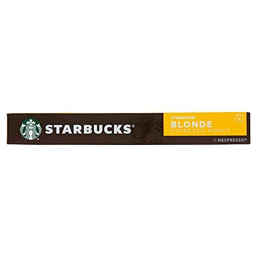Starbucks Blonde Espresso Roast By Nespresso Caffè Espresso 10 Capsule