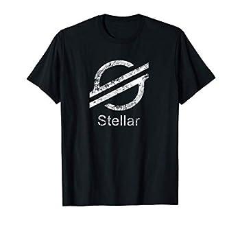 STELLAR LUMENS XLM Crypto Decentralized Blockchain Network T-Shirt