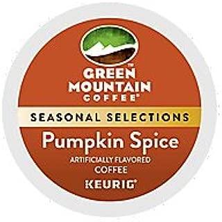 Green Mountain Pumpkin Spice Keurig K-Cup Coffee - Seasonal Selection (36 KCups) - Packaging May Vary