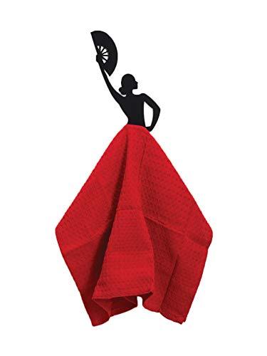 Kitchen Towel Hanger - Flamenco Dancer