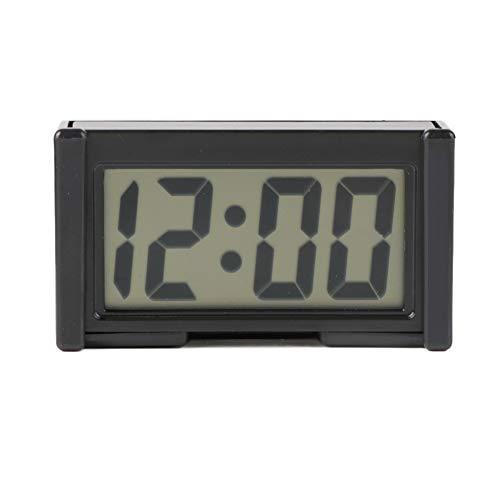 Orologio Digitale LCD da Cruscotto per Auto Veicoli con Display Ultrasottile con Display da Calendario Mini Accessori per Auto Portatili