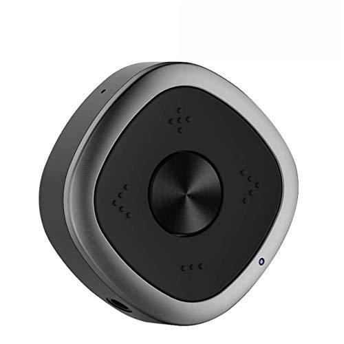 Transmisor y Receptor Bluetooth 5.0, ESOLOM 2 en 1 Adaptador Inalámbrico (A2DP + EDR, AptX de Baja Latencia, Doble Emparejamiento) con Audio de 3.5 mm y Cable RCA para Auriculares, Parlantes, TV