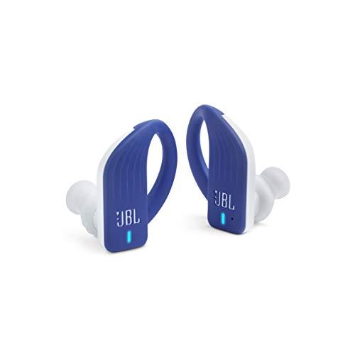 Fone de ouvido Esportivo Jbl Endurance Peak Wireless Waterproof Ipx7 Bluetooth Azul