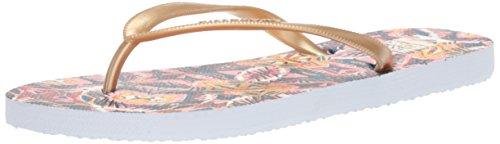 Billabong Women's DAMA Flat Sandal, Paradise Pink, 10 M US