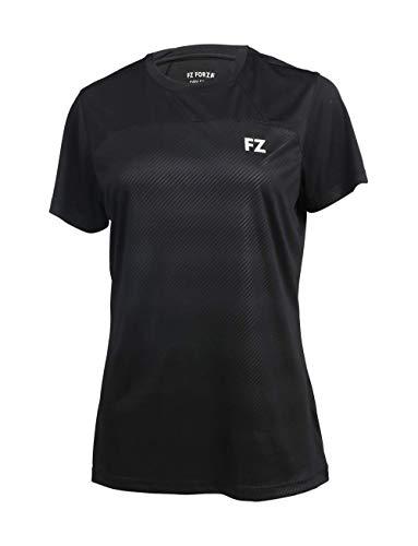 FZ Forza - Sport T-Shirt Harami - schwarz, für Damen - geeignet für Fitness, Running, Fußball, Squash, Badminton, Tennis etc. - L