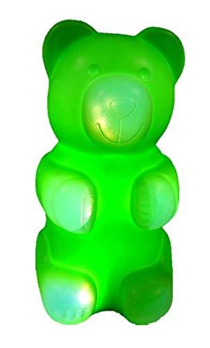 LED Leuchte Nikki Bär 12 Volt grün Höhe 31cm