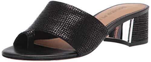 Donald J Pliner womens Heeled Sandal, Black, 8.5 US