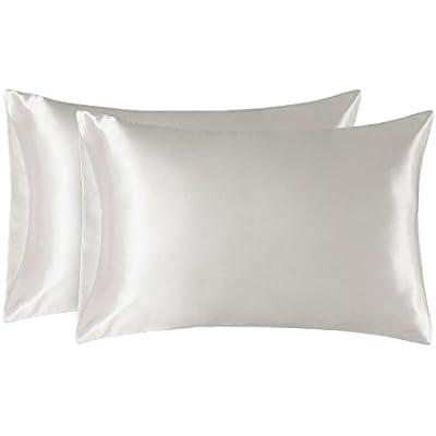 Standard Size Silky Satin Pillow Case
