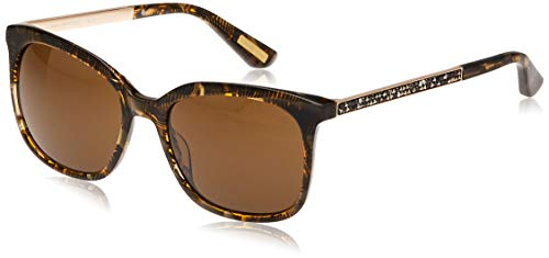 Guess GM0756 5450E by Marciano Sonnenbrille GM0756 50E Oval Sonnenbrille 54, Braun
