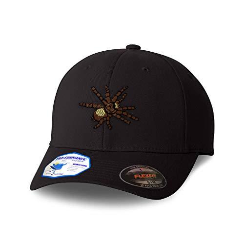 Flexfit Hats for Men & Women Animal Wildlife Bug Insect Spider Tarantula Polyester Dad Baseball Cap Black Design Only Small Medium