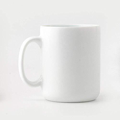 GJJSZ Keramik Kaffeetasse Macaron Keramikbecher Tasse Milch Kaffeetasse Net Rote Tasse Weibliche Kreative Geburtstagsgeschenk(Farbe: Weiß,Größe: 350 ml)