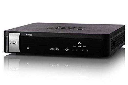 Cisco RV130-K9-G5 Router mit Gigabit-Ethernet, IPv6 Unterstützung
