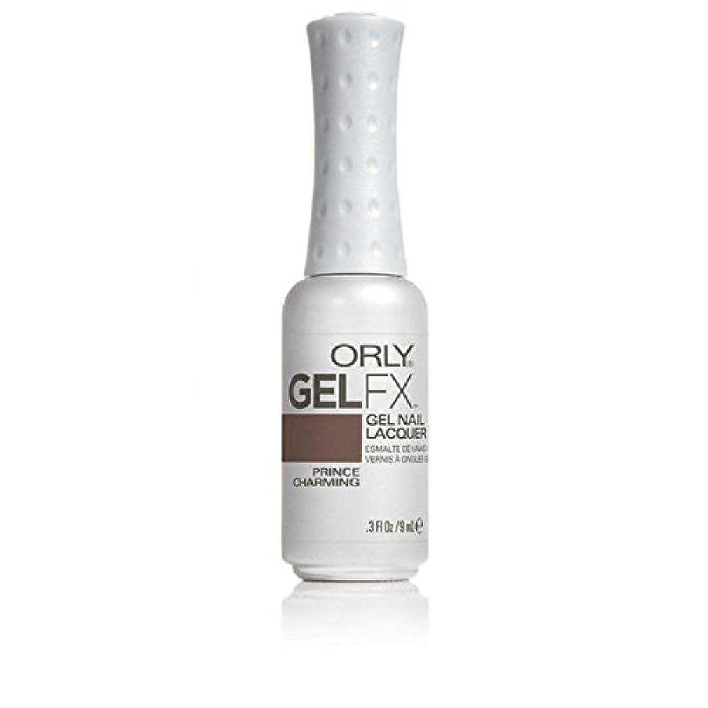 喉頭マラドロイト雪ORLY(オーリー)ジェルFXジェルネイルラッカー 9ml プリンスチャーミング#30715