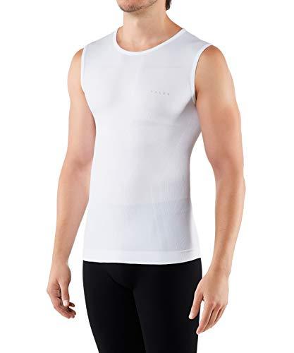 FALKE Herren, Singlet Warm Close Fit Funktionsfaser, 1 er Pack, Weiß (White 2860), Größe: XXL