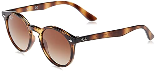 Ray-Ban 9064s Gafas de Sol, Shiny Havana, 44 Unisex-Niño