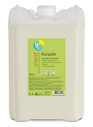Klarspüler: Geeignet für alle Spülmaschinen, Konzentrat, rein Pflanzlich, ohne Petrochemie