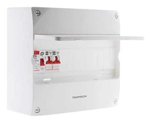 Coffret Électrique Pré-Équipé 1 Rangée 13 Modules - Thomson