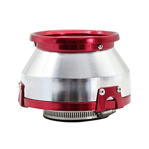QIANGQIANG Very gondhh 1 PCS 7 6mm Mushroom Head Metal Shell Aereo de Aire Bellows (Color : Red)