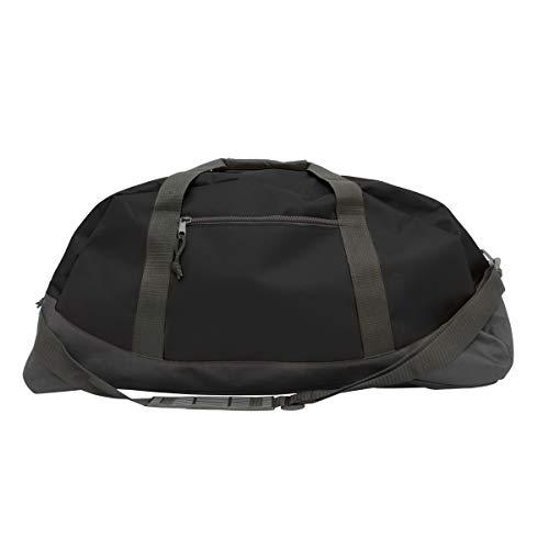 Projectie-sporttas 'Basic' van 600D polyester - premium kwaliteit - universeel inzetbaar voor gym, fitness, voetbal, sauna - schouderriem met karabijnhaak - tas voor mannen, vrouwen en kinderen