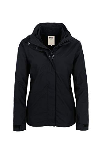 Hakro Women Active Jacke Aspen, schwarz/fleece in schwarz, S