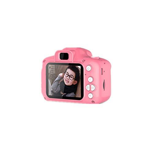 Uyuke Pantalla de 2 Pulgadas Mini cámara Digital Recargable Niños Cámara Linda Juguetes Accesorios de fotografía al Aire Libre