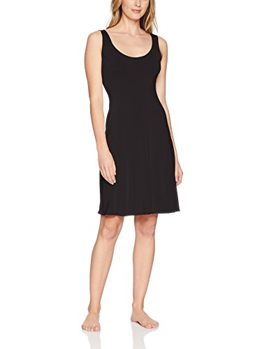 Jones NY Women's Silky Touch 38 Sleeveless Anti-Cling Full Slip, Black, L