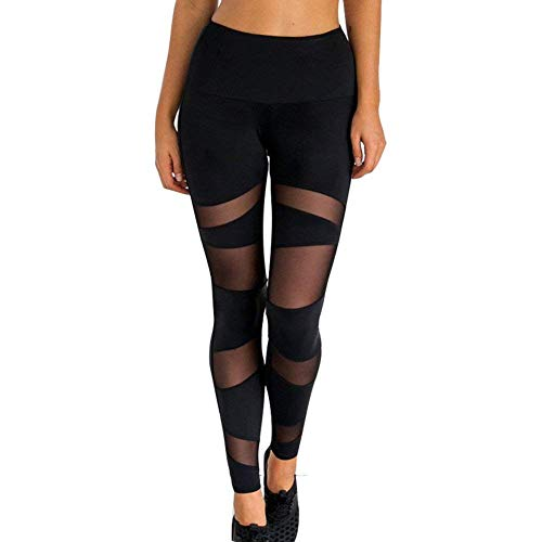 Leggings Pantalones De Chándal Medias Mujeres Leggins Elástico De Yoga Pantalones Pantalones Deportivos Pantalones Deportivos Pantalones De Entrenamiento Pantalones De Malla Transparente Pantalones