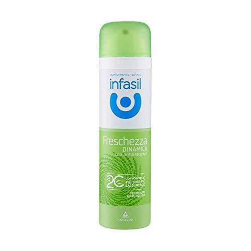 Infasil Deo Spray 6 x 150ml molécule 2 C fraîcheur dynamique de douche fRESH