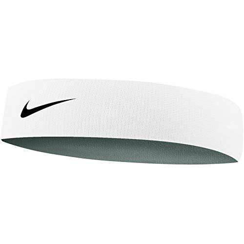 Nike Narrow Cooling hoofdband, uniseks, volwassenen, wit, OS