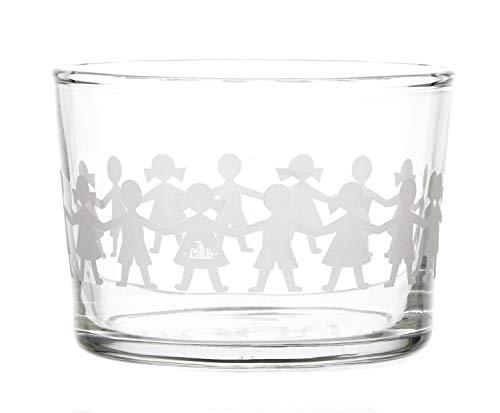 La Porcellana bianca Juego de 6 vasos Amaro o o copa Baby de cristal P401000053