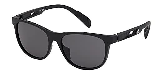 adidas Gafas de Sol Sport SP0022 Matte Black/Grey Cat. 55/16/140 unisex