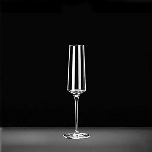 Copa de vino BWM Copa de champán de cristal para vino dulce, copa de vino espumoso,...