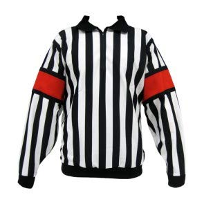 CCM M-Pro150B Referee Jersey with Red Bands (54)