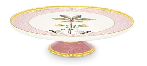 PiP Studio 51018095 La Majorelle Tortenplatte pink 30,5 cm (1 Stück)