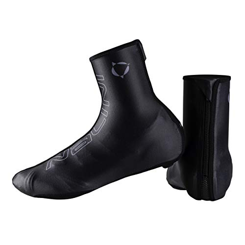 Nalini - Copriscarpe Termici Invernali Made in Italy Modello AHW Classic Cover Shoes Colore Nero 4000, Taglia L 42-43