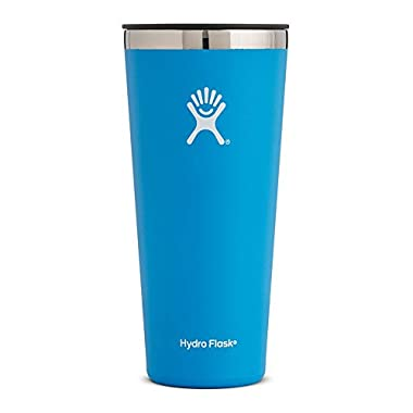 Hydro Flask 32 oz Double Wall Vacuum Insulated Stainless Steel Travel Tumbler Cup with BPA Free Press-In Lid, Pacific