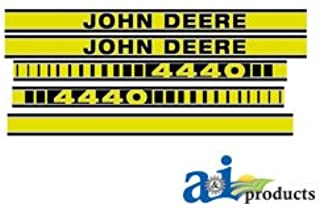 A&I Products Hood Decal Replacement for John Deere Part Number JD4440TP