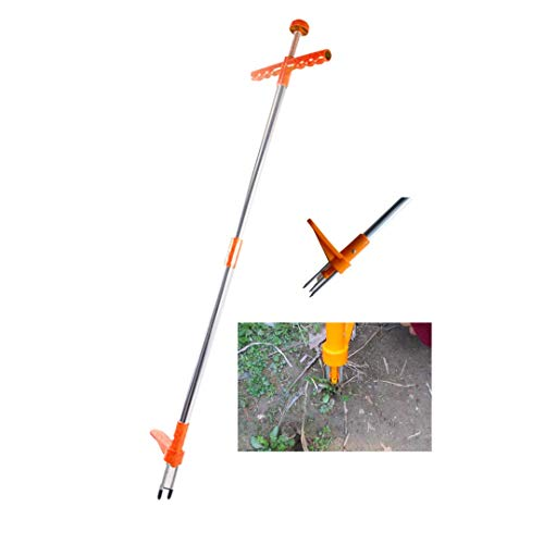 Big Little Tree Stand Up Weeder - Sturdy Weed Puller - Modern Gardening Weed Remover Tool - 3 Claw Design for Stubborn Dandelions and Crabgrass – Easy Assembly