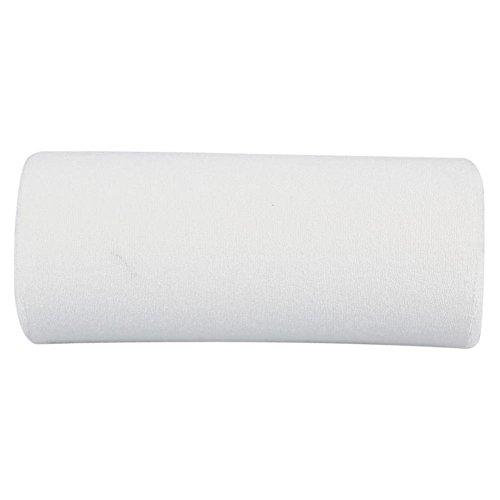 10 colores mano Cusion, salón durable mano resto cojín desmontable lavable arte de uñas suave esponja almohada brazo resto equipo(blanco)