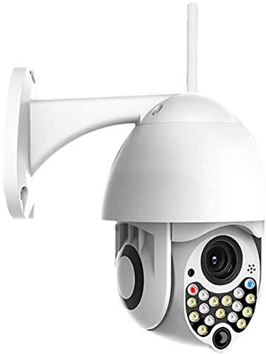 Außenüberwachungskamera PTZ-Außenüberwachungskamera 1080P Wi-Fi-Überwachungskamera Überwachungsüberwachung CCTV IP Wetterfeste Kamera mit Nachtsicht- / Bewegungserkennung Zwei-Wege-Audio-1080p