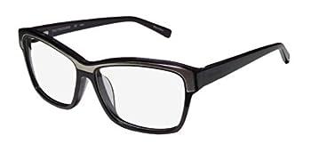 Trussardi 12500 Mens/Womens Designer Full-Rim Shape Spring Hinges Unique Design Premium Quality Eyeglasses/Eyewear  55-14-135 Violet/Silver