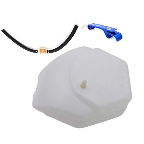 TC-Motor Minimoto Gas Fuel Tank With Cap Fule Hose Filter For Chinese 2 Stroke 47cc 49cc Minimoto Pocket Bike