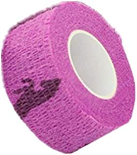 TENGGO Colorido Deporte Autoadhesivas Mascotas Apoyo Vendaje Elástico Dedo Conjunta Abrigo Lesiones Cinta-Púrpura Punto-M