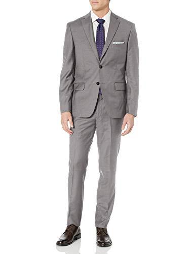 DKNY Grey Wool Slim Fit Suit