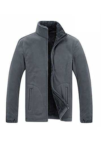 SLSCL otoño e invierno suéter de los hombres más terciopelo grueso suelto de gran tamaño de cuello alto cardigan de lana chaqueta de los hombres de lana