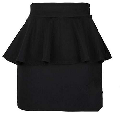 Nobrand Falda de Mujer Cintura Alta lápiz elástico Mini Faldas Sexy Mujer