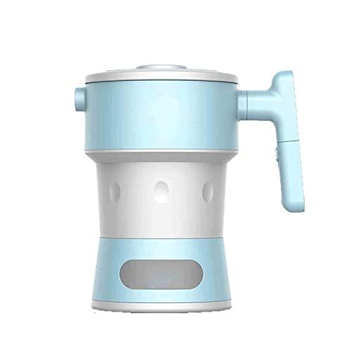 SONG Hervidor eléctrico para Viajes, hervidor de Aislamiento Plegable portátil. (BPA- Gratis), Apagado automático de protección contra hervidos, fáciles de Almacenamiento, para Viajes a Domicilio
