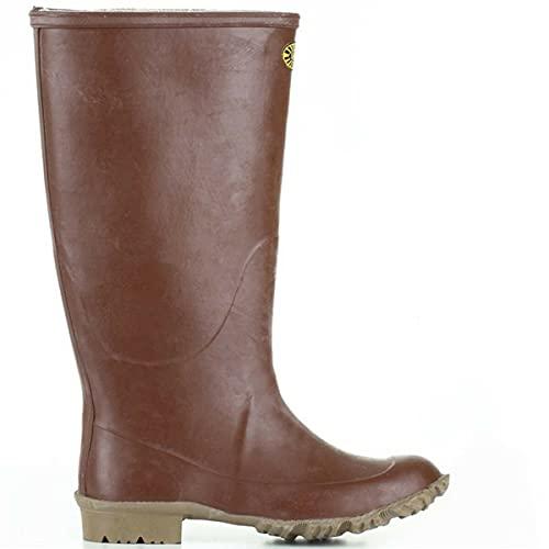 Stivali in gomma - 7266-ginocchio Padus - Brown - 40