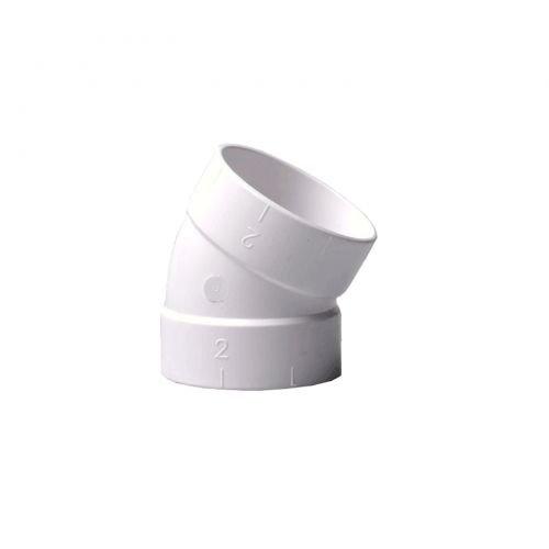 Bogen 30° für Zentralstaubsauger Vakuumrohrsystem, 2-Zoll (50,8mm)